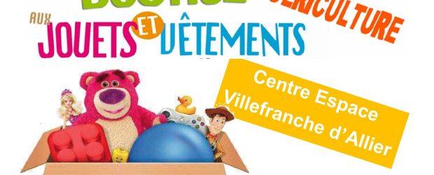 Devant la satisfaction des habitants le Centre Social Rural de Villefranche/Montmarault organise sa quatrièmebourse aux vêtements enfants (de 0 à 16 ans), matériel de puériculture et jouets les 13 et […]