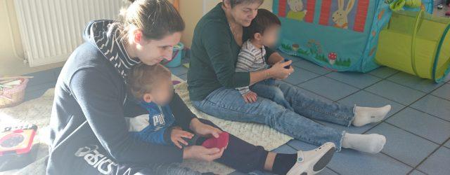 Ce jeudi matin au RAM de Montvicq a eu lieu un atelier un peu spécial. En effet, aujourd'hui, 5 assistantes maternelles et une maman ont pu profiter pleinement de l'atelier […]
