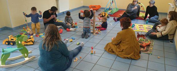 Ce matin, le RAM de Montvicq n'était pas comme à son habitude…de nouveaux jouets, deux nouvelles personnes, mais même pas peur ! Il en faut plus pour intimider les enfants […]